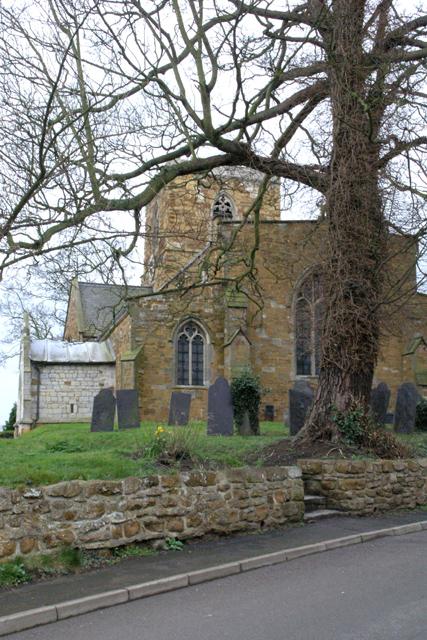 Long Clawson Church from Church Lane