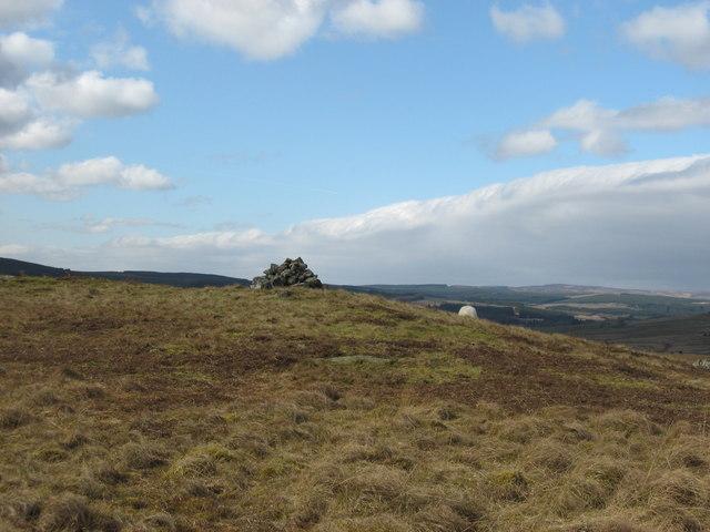 Cairn on Leonard's Hill