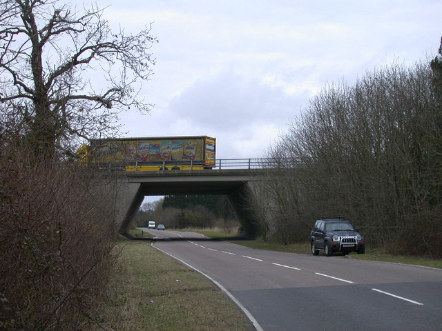 Motorway bridge over Newton Road