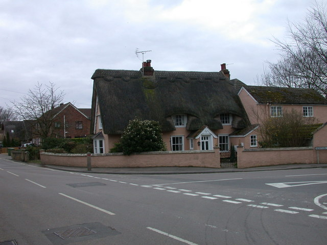 Thatched Cottage, corner of Newton Road