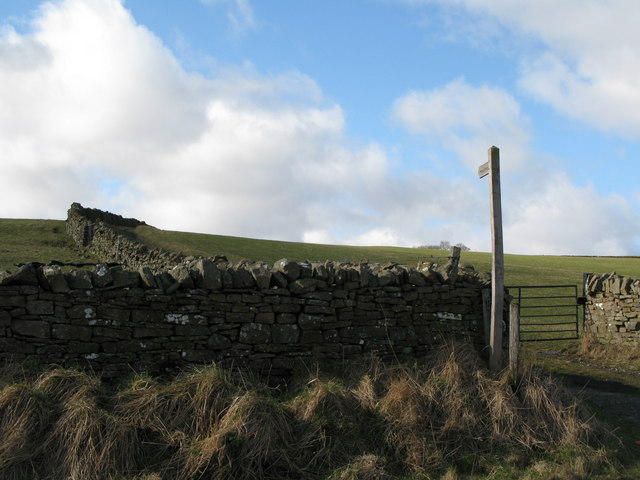 Footpath to Rose Hill