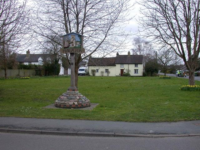 Hauxton Village Green
