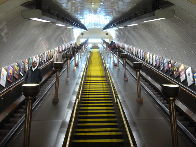 Escalators, St John's Wood tube station