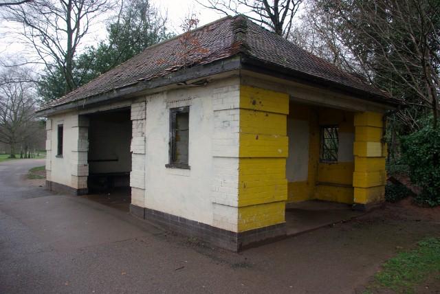 Shelter in Memorial Park