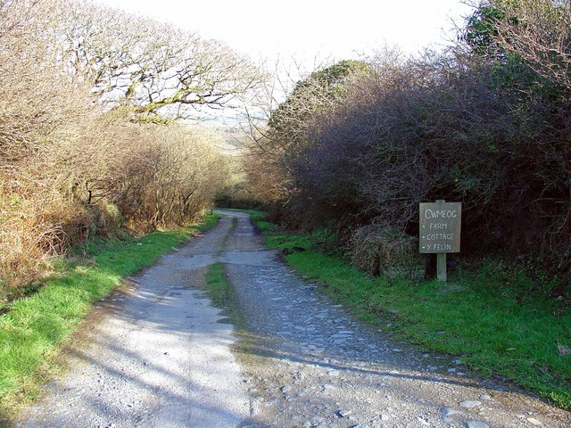 Track to Cwmeog