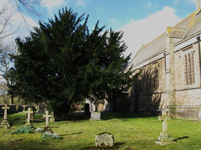 The churchyard, Eastgate