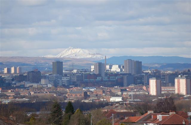 A view across Glasgow