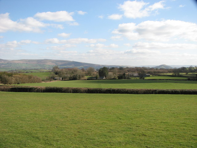 View towards Waun y mynach Common