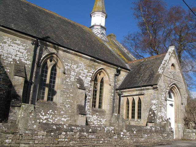 The Cuthbert Bainbridge Memorial Wesleyan Chapel, 1891 - close-up
