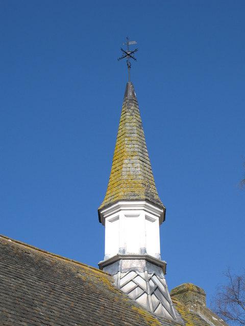 Spire of the Cuthbert Bainbridge Memorial Wesleyan Chapel