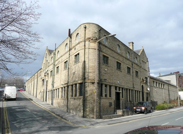 Former swimming baths, Old Westgate, Dewsbury