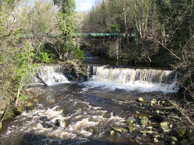 Waterfalls on Rookhope Burn