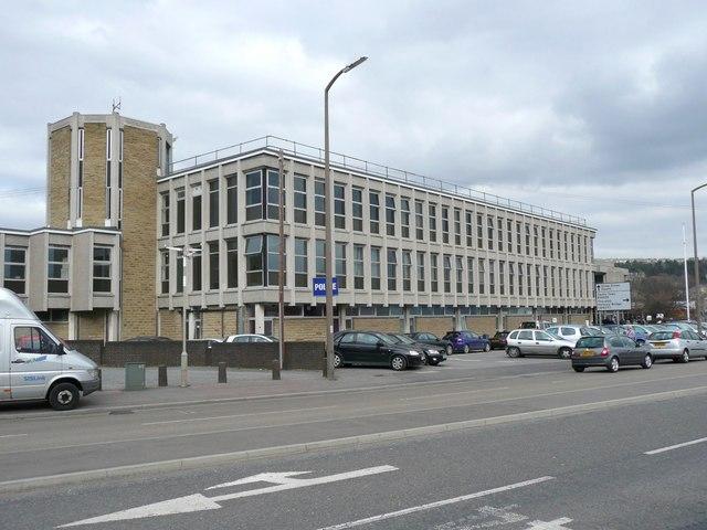 Police station, Aldams Road, Dewsbury