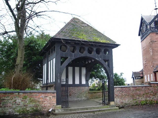 Parish Church of St Martin, Ashton upon Mersey, Lychgate