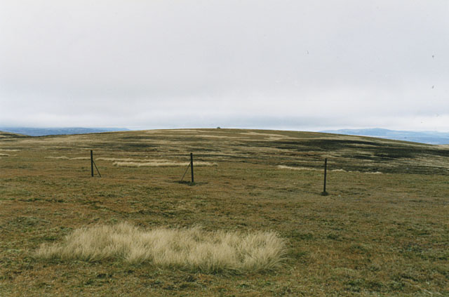 The summits of A' Bhuidheanach Bheag