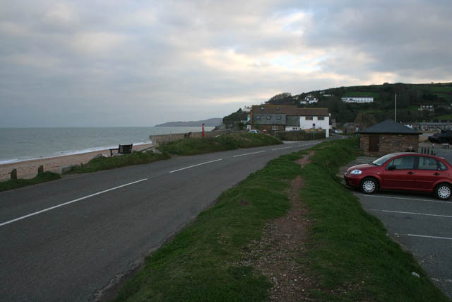 The A379 at Torcross