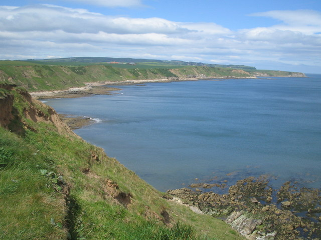 Sea view from the Cleveland Way near Scalby