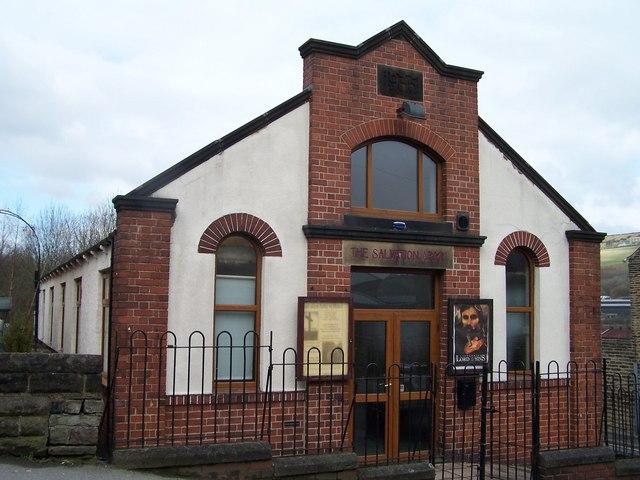 Salvation Army Hall in Stocksbridge
