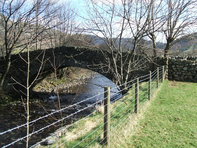 Bridge over Langdale Beck