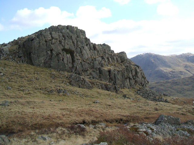 Long Crag on Wrynose Fell