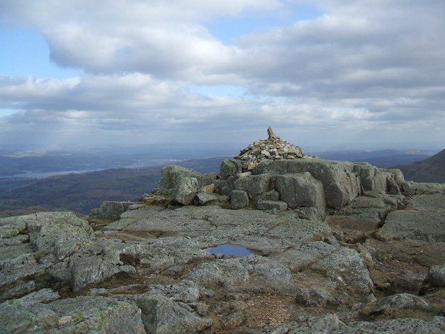 Cairn on Pike of Blisco