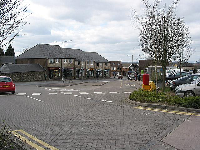 Bus station, Dockham Road, Cinderford