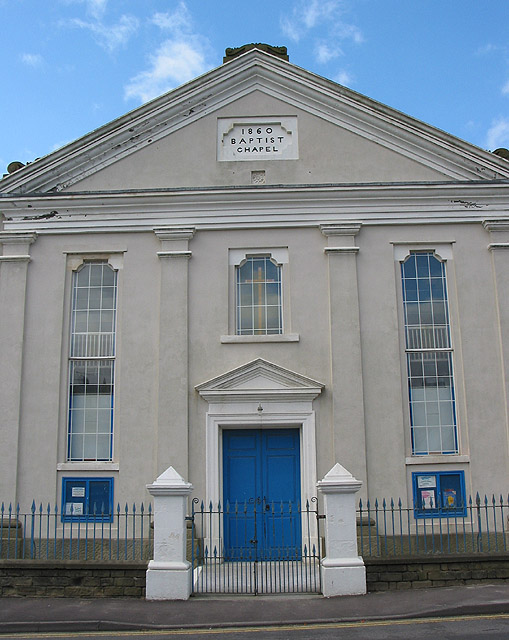 Facade of the Baptist Chapel, Cinderford