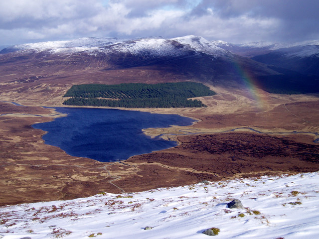 North Eastern Slopes of Carn Dearg