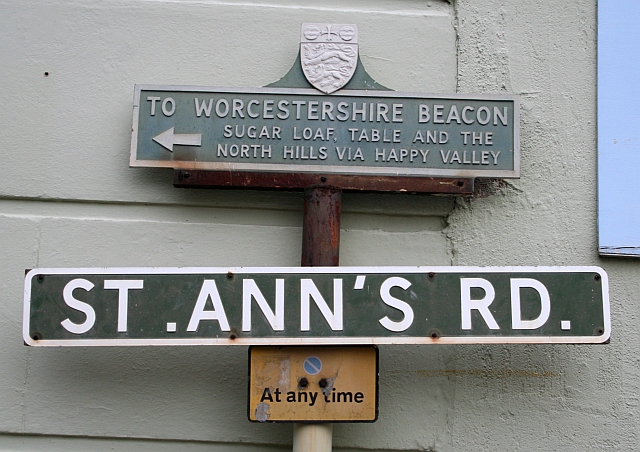 Old Sign, St Ann's Road