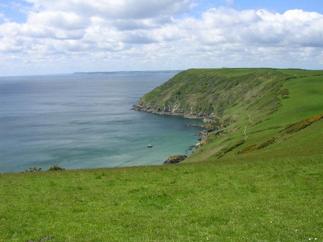 View across Lantic Bay