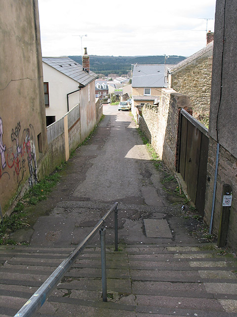 Steps off Market Street