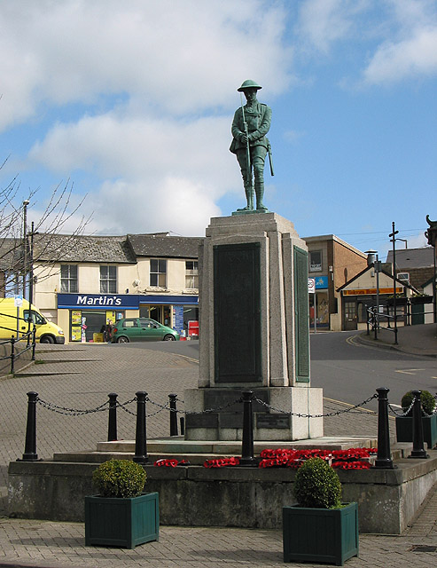 War memorial, The Triangle, Cinderford