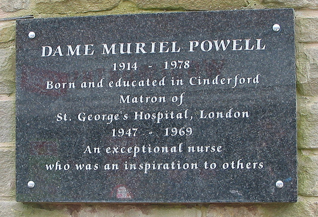 Plaque on the clock tower, Cinderford
