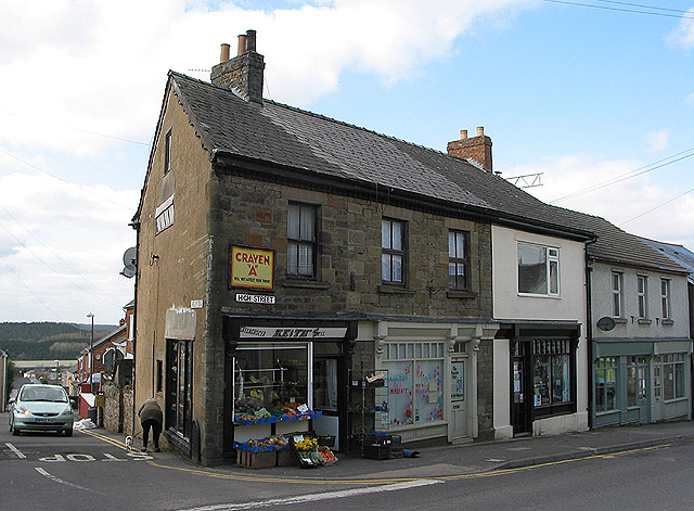 Traditional greengrocer, High Street, Cinderford
