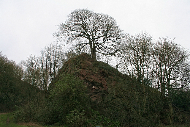 Granite Spur, Wyche Upper Quarry