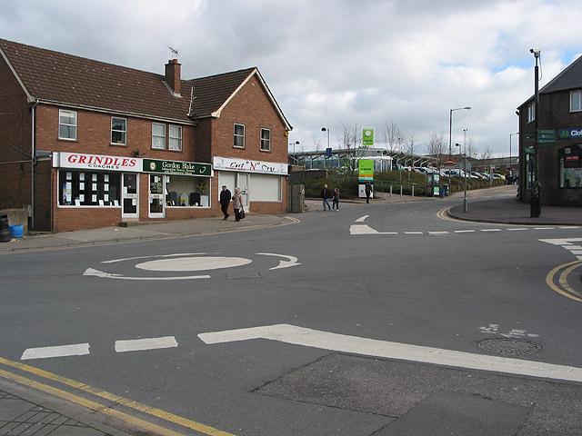 Mini roundabout, Cinderford