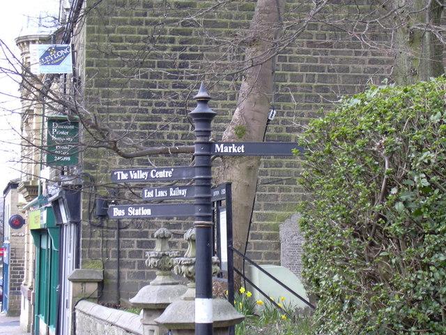 Tourist Sign, Bank Street