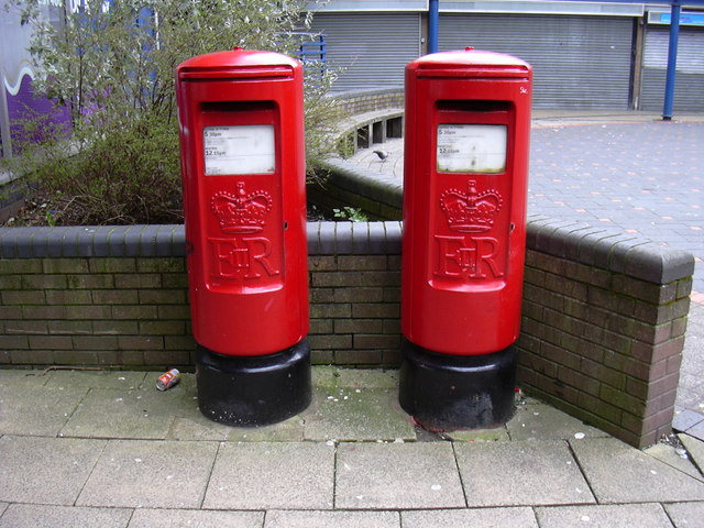Post Boxes, the Valley Centre