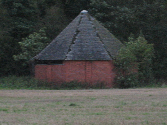 Horse Shelter in field at Chipnall, near Cheswardine