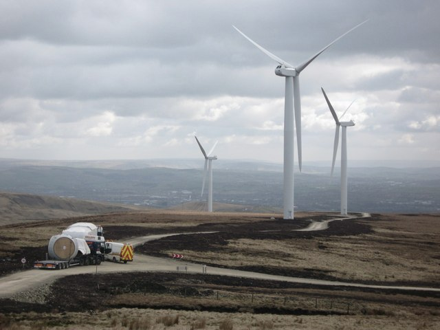 Scout Moor Turbine Towers 15, 10 and 9