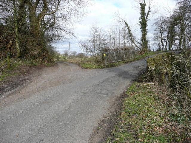 The Junction to Drundow farm