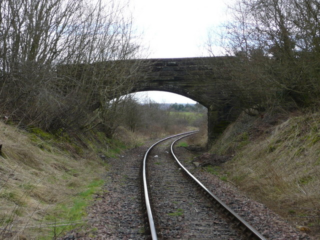 The bridge over the railway