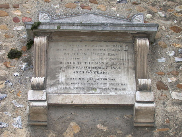 Little Shelford church, memorial tablet