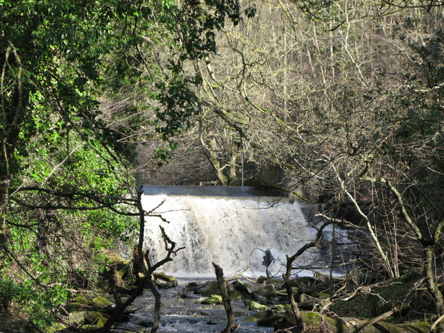 Waterfall on Rookhope Burn