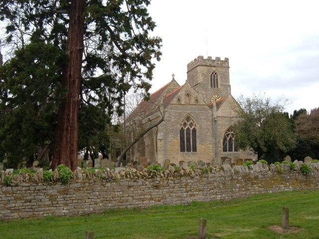 All Saints church, Milton Keynes Village