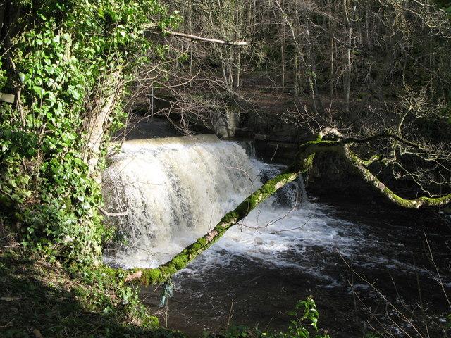 Waterfall on Rookhope Burn (2)