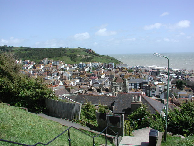 Hastings Old Town from West Hill