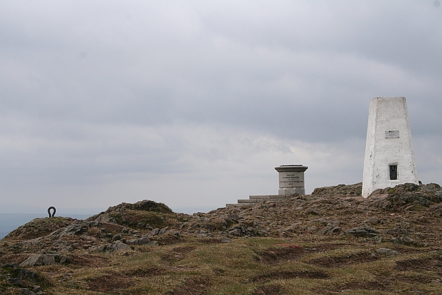 The Summit of Worcestershire Beacon