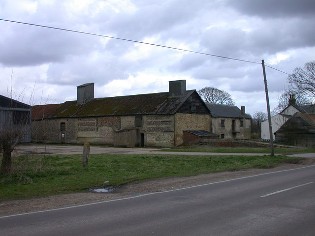 Old barn at Rectory Farm