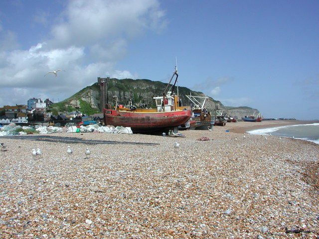 Fishing Boats and East Cliff Railway